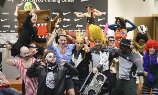 Los jugadores de la Juventus de Turín también se han apuntado al fenómeno Harlem Shake (Foto: Corriere Dello Sport)